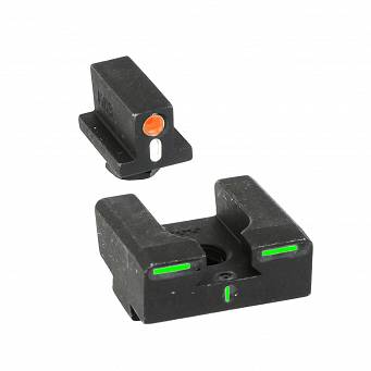 Meprolight ML-12224 O/G R4E przyrządy trytowe Orange/Green do Glock