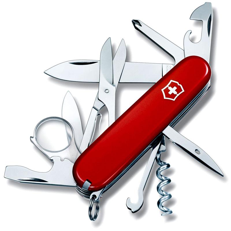 Victorinox Explorer Medium Pocket Knife With Magnifying