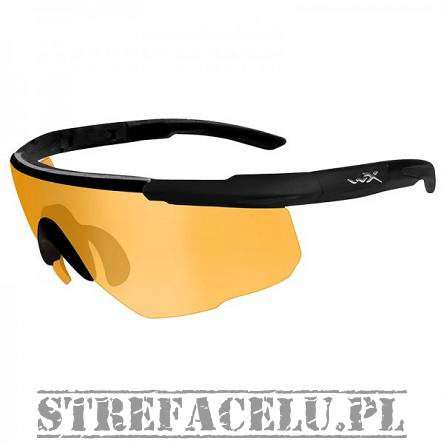 Okulary WileyX Saber Adv. Light Rust Lens 301 / Matte Black Frame w/Bag