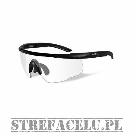 Okulary WileyX Saber Adv. Clear Lens 303 / Matte Black Frame w/Bag