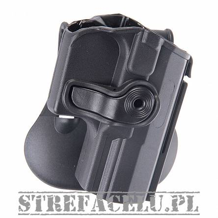 IMI Defense - Roto Paddle Holster for Walther PPQ - black