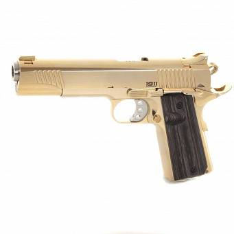 Pistolet Bul 1911 Classic Government LIMITED All Gold (24 karat) // .45 ACP