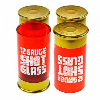 Kielony łuski shotgun - Shotgun Shot Glasses