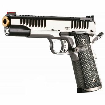 Pistolet Bul 1911 Classic Trophy SAW IPSC Silver/Gold // .9 PARA