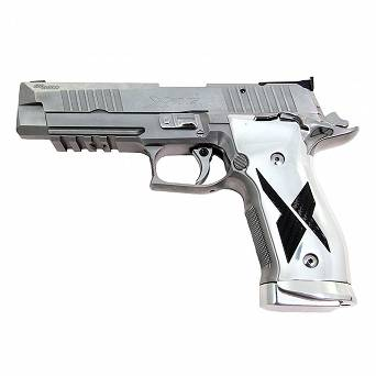 Pistolet Sig Sauer X-Five Chrome and Carbone // .9 PARA