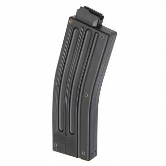 Magazynek łukowy 25 nabojowy .22LR do mini rifle M16/AR15 - IMI-ZMG08 blk