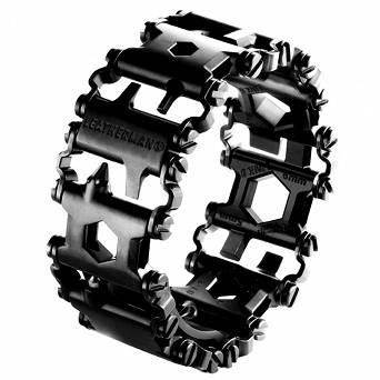 Bransoletka Multitool Leatherman Tread - Black DLC